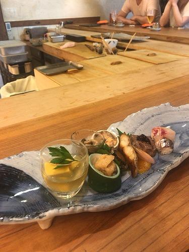 舟入の創作寿司屋「さかもと屋市兵衛」