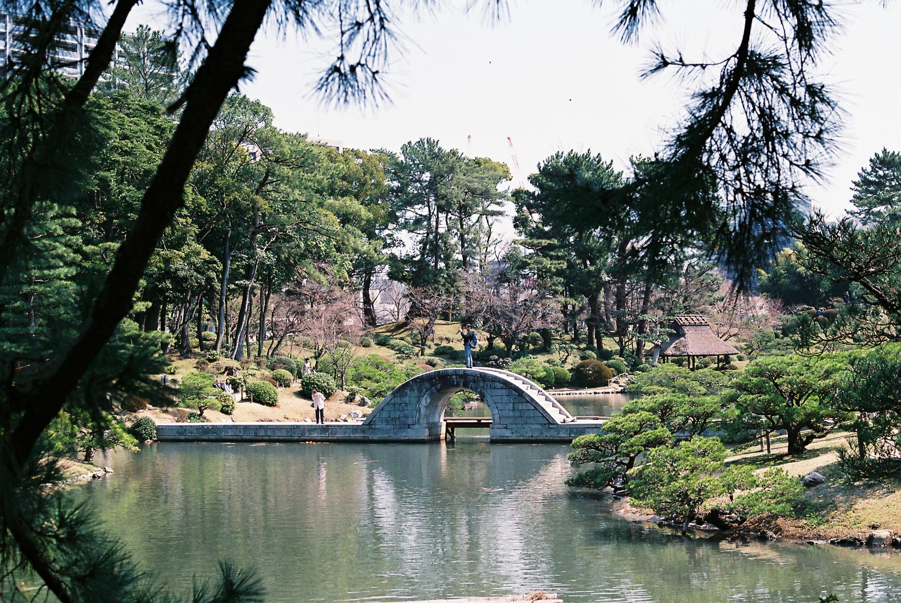 縮景園 「時間を忘れて優雅に日本庭園を撮る」