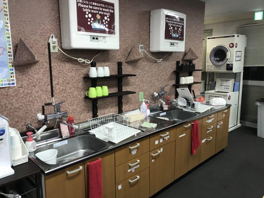 キッチンスペースの紹介