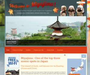 welcome to miyajima