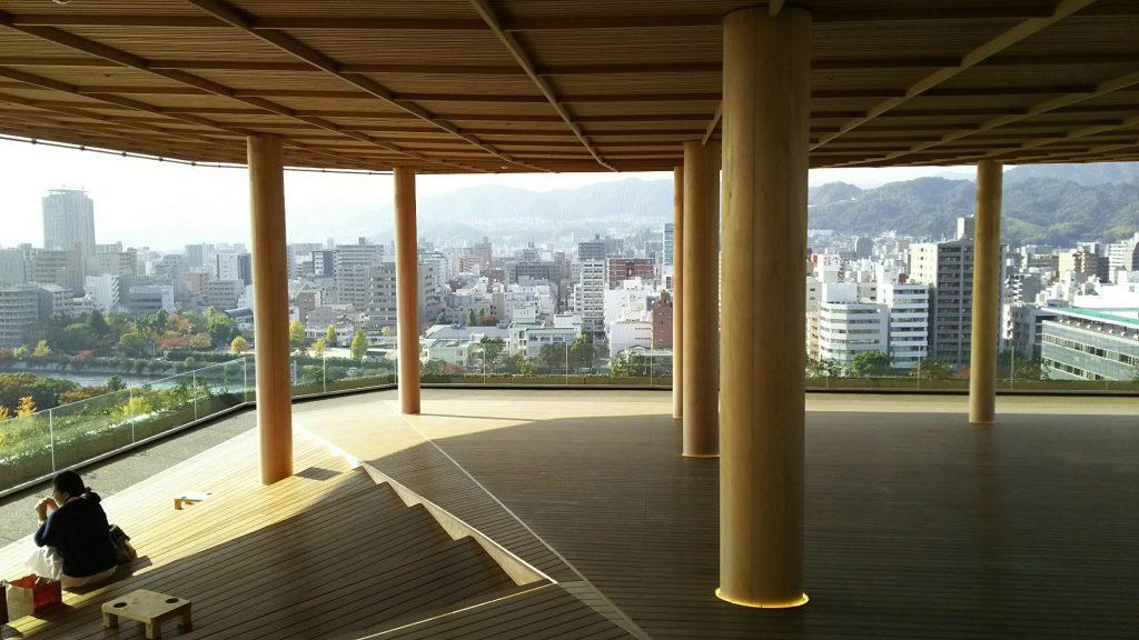広島新名所 おりづるタワー