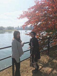 【広島市内の紅葉オススメスポット】横川から寺町の太田川沿い