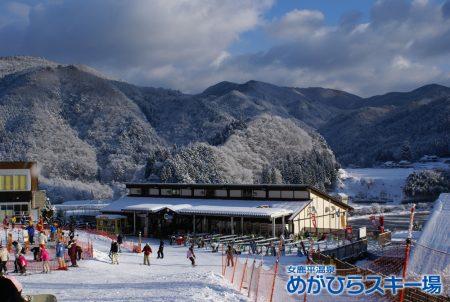 宮島から一番近いスキー場