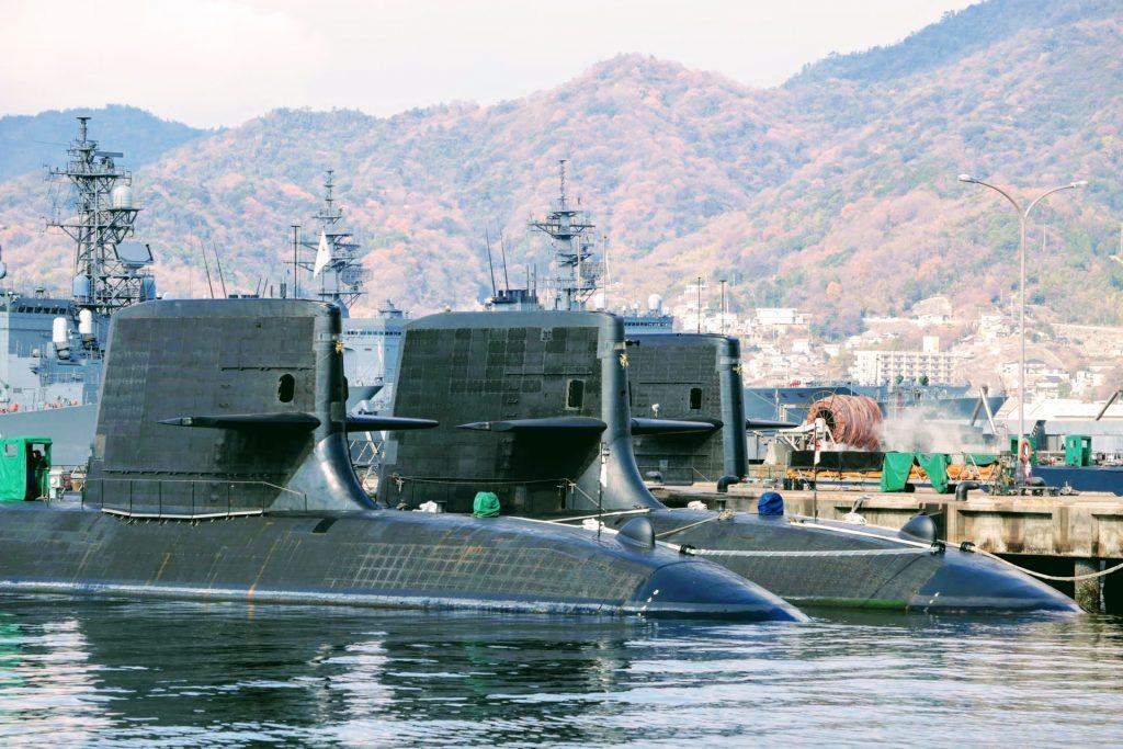 呉 写真 撮影 潜水艦 アレイからすこじま公園