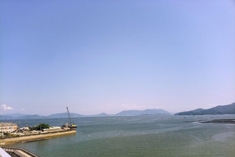 見上げてごらん 宮島の空を