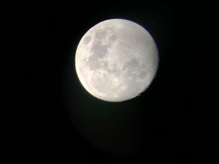 宮島花火大会ぃぃぃからのぉ~素敵な月(人´∀`)