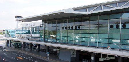 広島空港へ行ってきました。by motorcycle